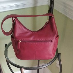 St. John's Bay Leather Hobo Shoulder Bag